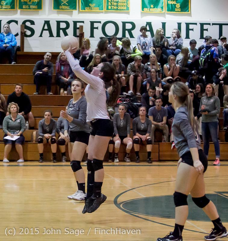 7931 Varsity Volleyball v Crosspoint 102315
