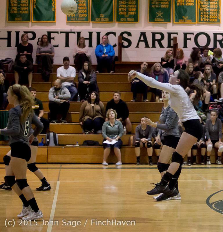 7932 Varsity Volleyball v Crosspoint 102315