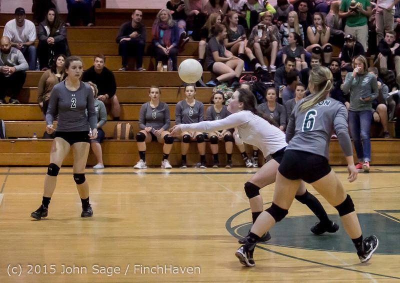 7944 Varsity Volleyball v Crosspoint 102315