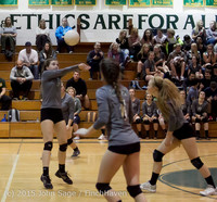 7951 Varsity Volleyball v Crosspoint 102315