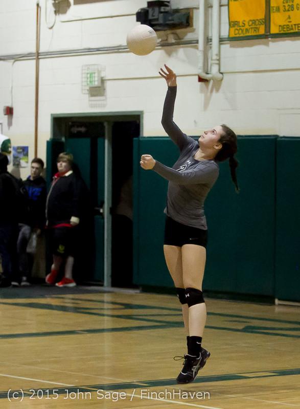7965 Varsity Volleyball v Crosspoint 102315
