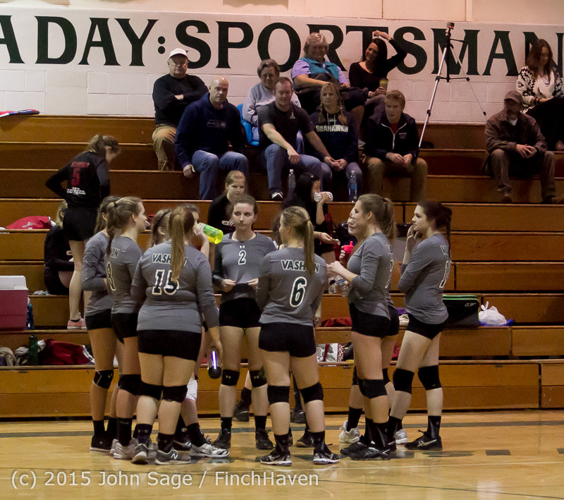 7998 Varsity Volleyball v Crosspoint 102315