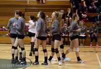 8013 Varsity Volleyball v Crosspoint 102315
