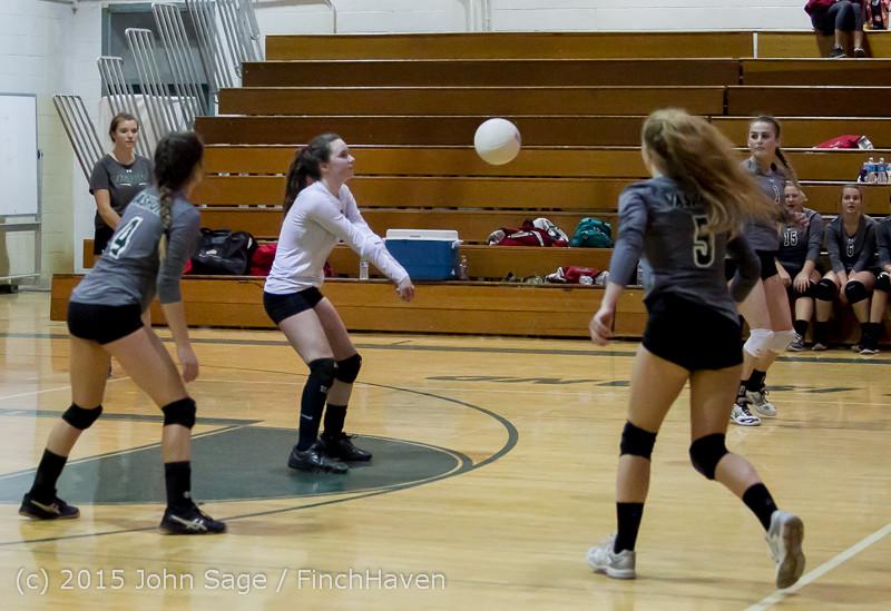 8022 Varsity Volleyball v Crosspoint 102315