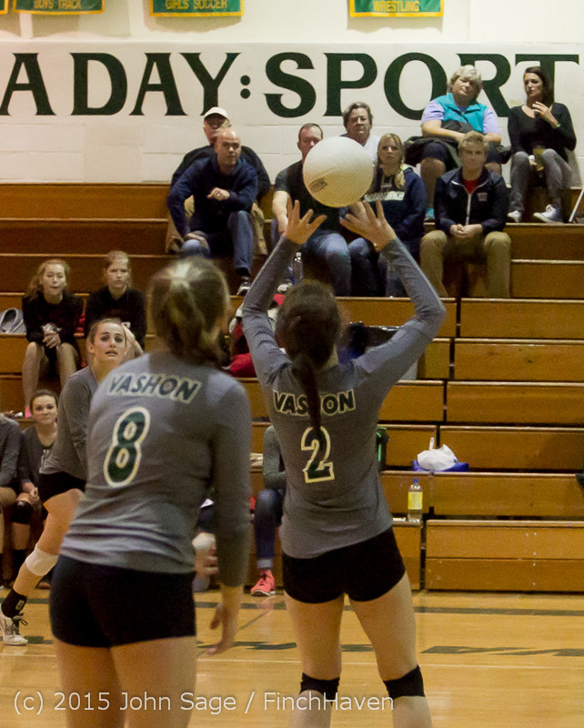 8045 Varsity Volleyball v Crosspoint 102315