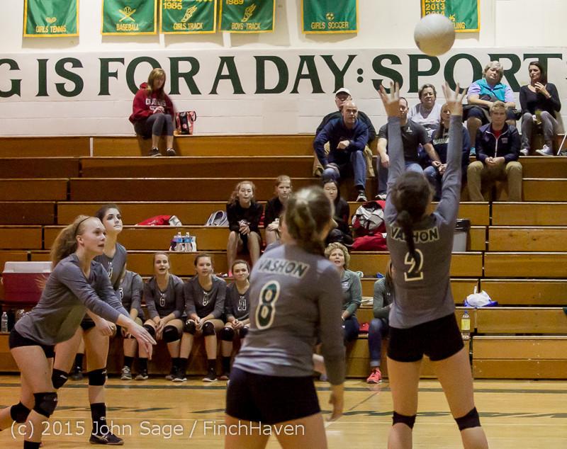 8046 Varsity Volleyball v Crosspoint 102315