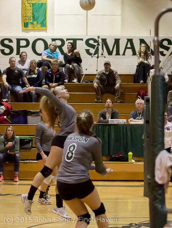 8051 Varsity Volleyball v Crosspoint 102315