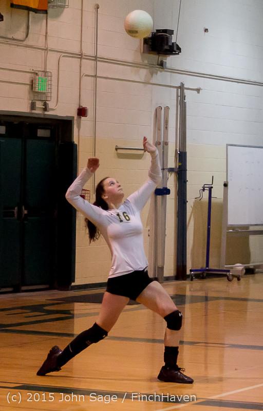 8069 Varsity Volleyball v Crosspoint 102315
