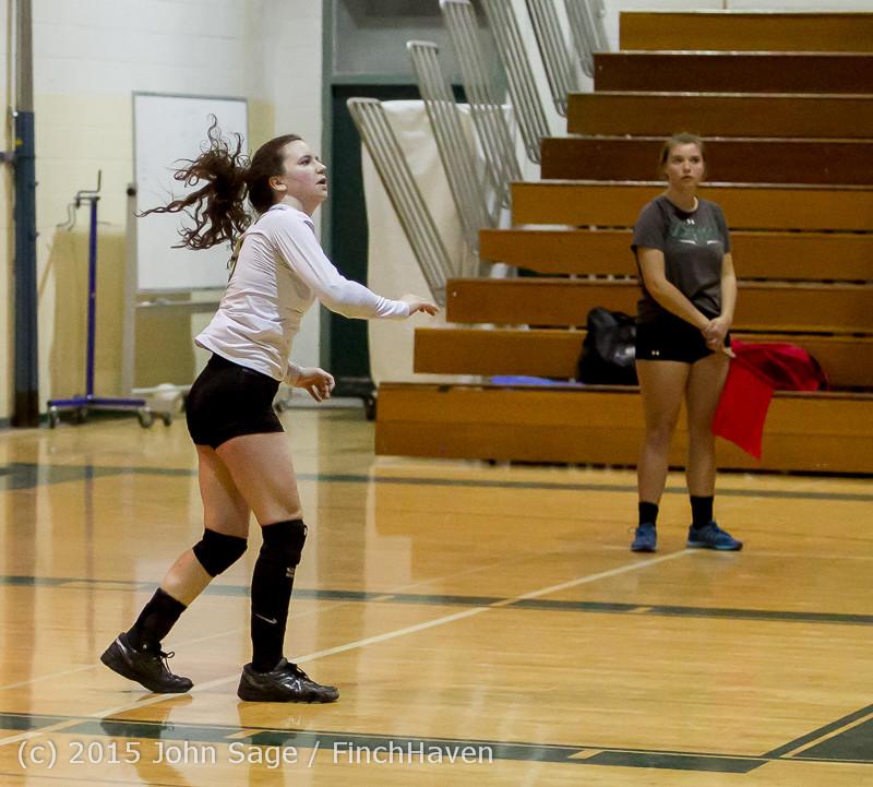 8074 Varsity Volleyball v Crosspoint 102315