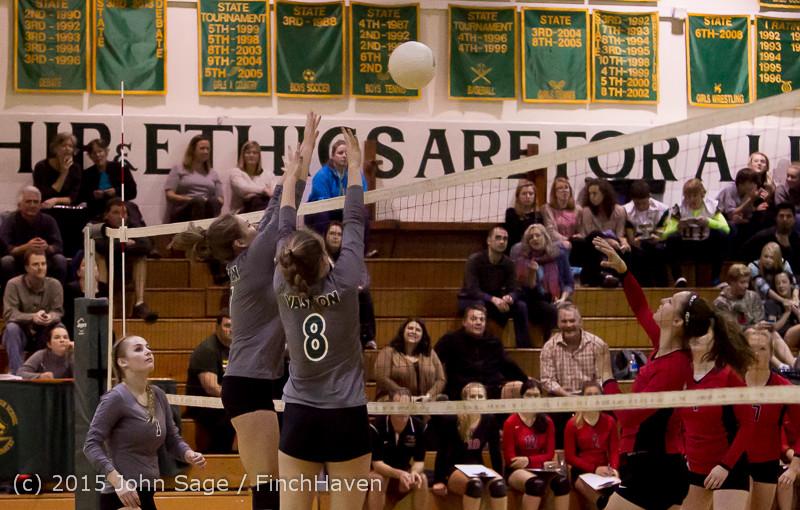 8076 Varsity Volleyball v Crosspoint 102315