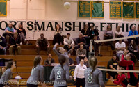 8085 Varsity Volleyball v Crosspoint 102315