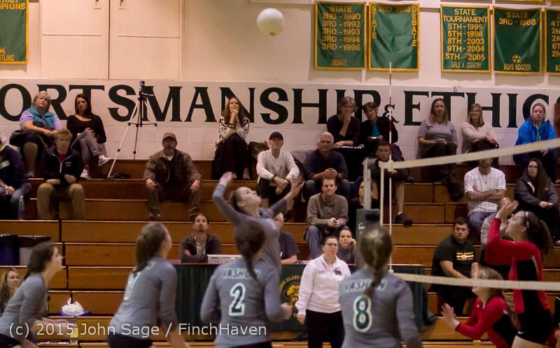 8085 Varsity Volleyball v Crosspoint 102315