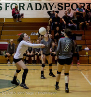 8091 Varsity Volleyball v Crosspoint 102315