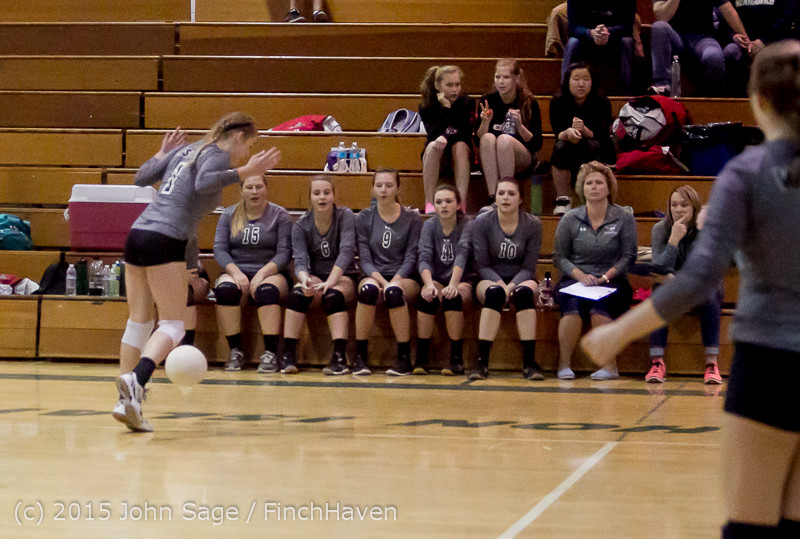 8108 Varsity Volleyball v Crosspoint 102315