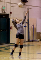 8112 Varsity Volleyball v Crosspoint 102315