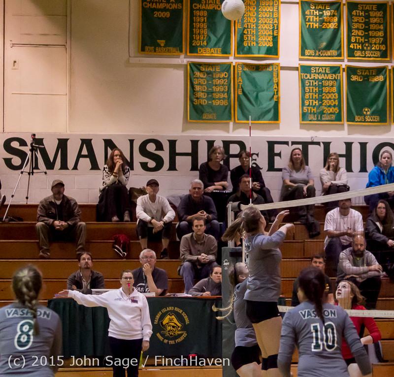 8119 Varsity Volleyball v Crosspoint 102315