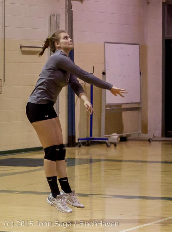 8124 Varsity Volleyball v Crosspoint 102315
