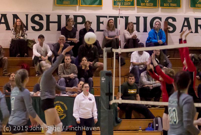 8144 Varsity Volleyball v Crosspoint 102315