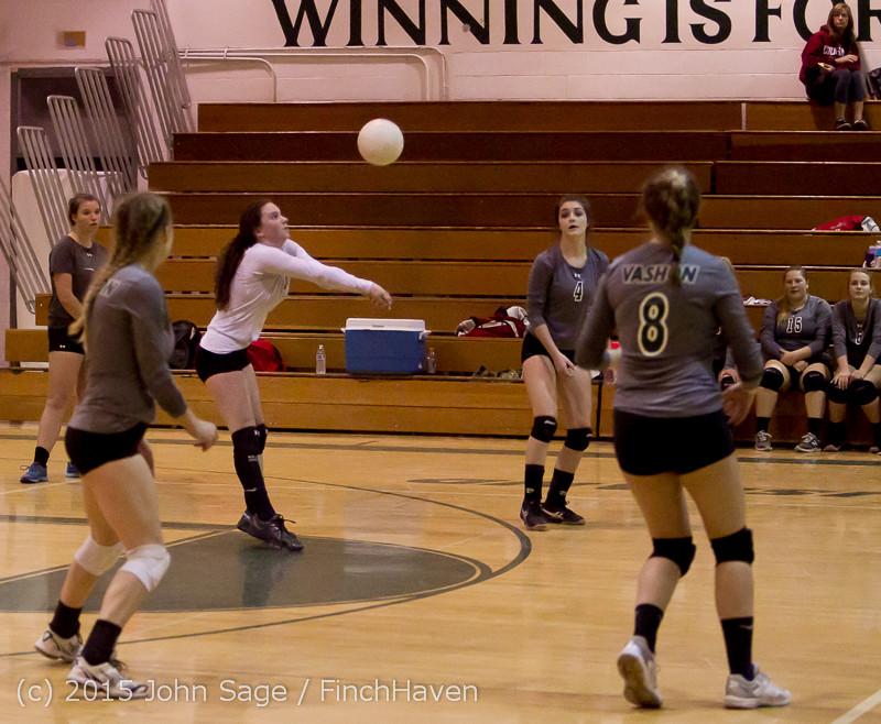 8168 Varsity Volleyball v Crosspoint 102315