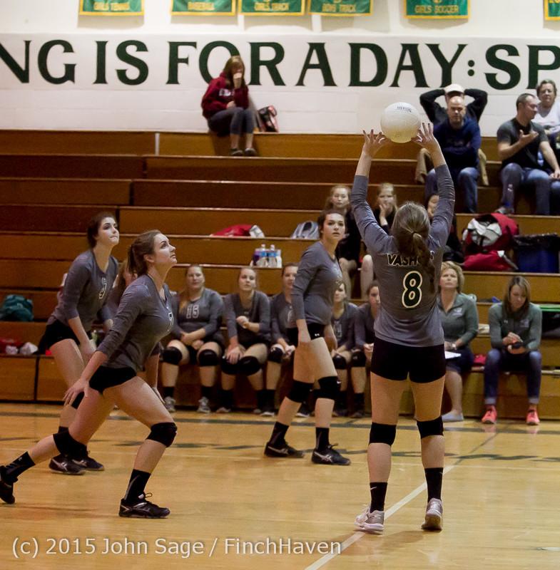 8174 Varsity Volleyball v Crosspoint 102315
