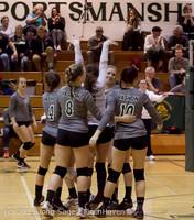 8211 Varsity Volleyball v Crosspoint 102315