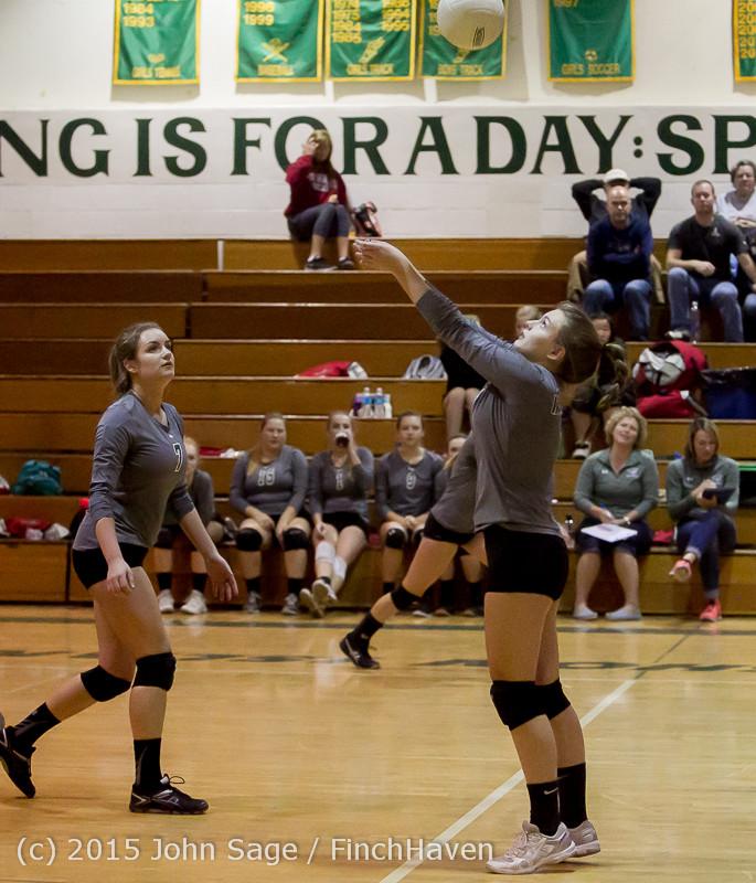 8227 Varsity Volleyball v Crosspoint 102315