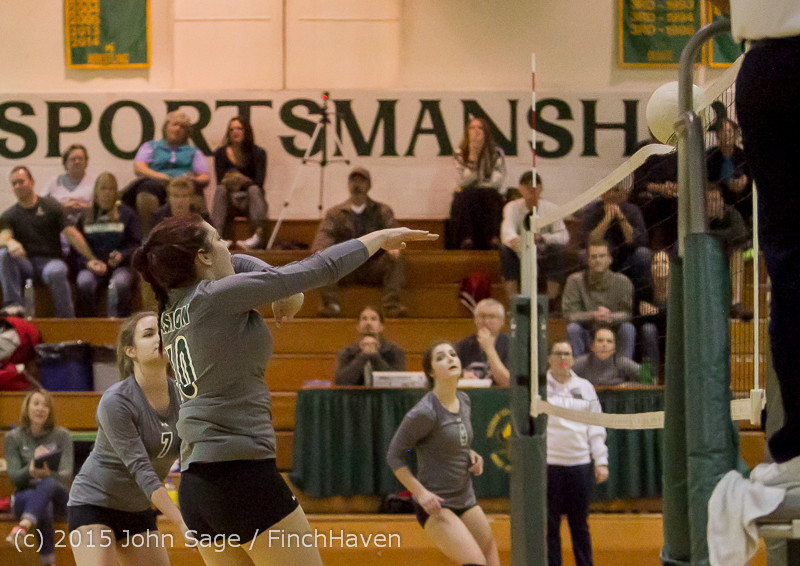 8234 Varsity Volleyball v Crosspoint 102315