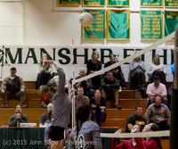 8240 Varsity Volleyball v Crosspoint 102315