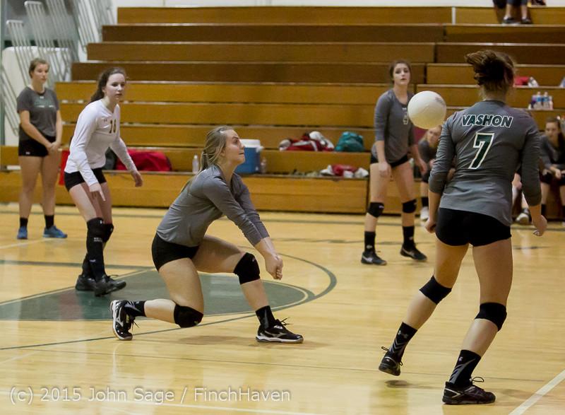 8268 Varsity Volleyball v Crosspoint 102315