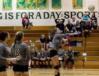8281 Varsity Volleyball v Crosspoint 102315