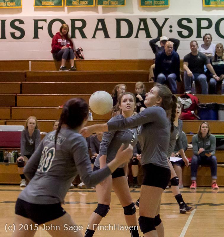 8285 Varsity Volleyball v Crosspoint 102315