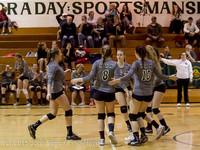 8307 Varsity Volleyball v Crosspoint 102315