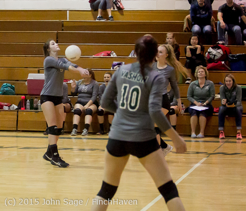 8389 Varsity Volleyball v Crosspoint 102315