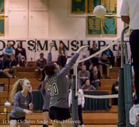 8418 Varsity Volleyball v Crosspoint 102315