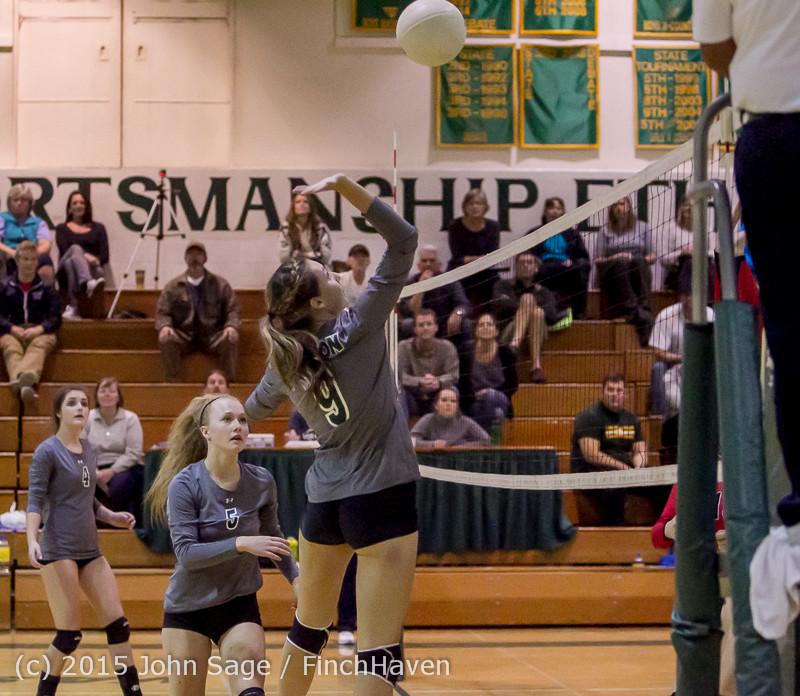 8459 Varsity Volleyball v Crosspoint 102315