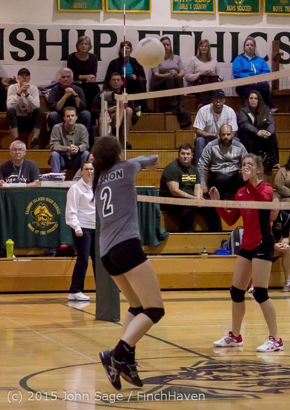 8491 Varsity Volleyball v Crosspoint 102315
