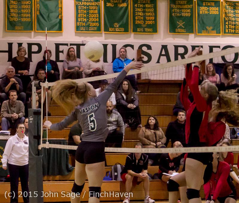 8496 Varsity Volleyball v Crosspoint 102315