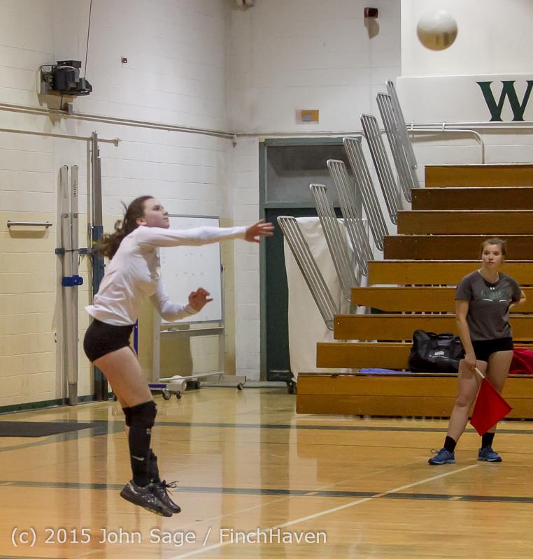 8523 Varsity Volleyball v Crosspoint 102315