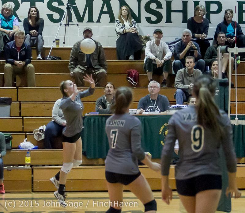 8534 Varsity Volleyball v Crosspoint 102315