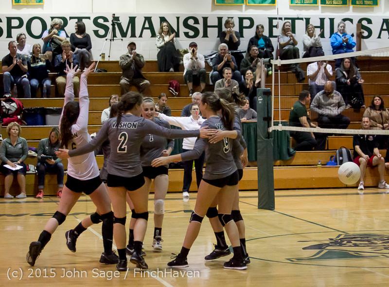8554 Varsity Volleyball v Crosspoint 102315
