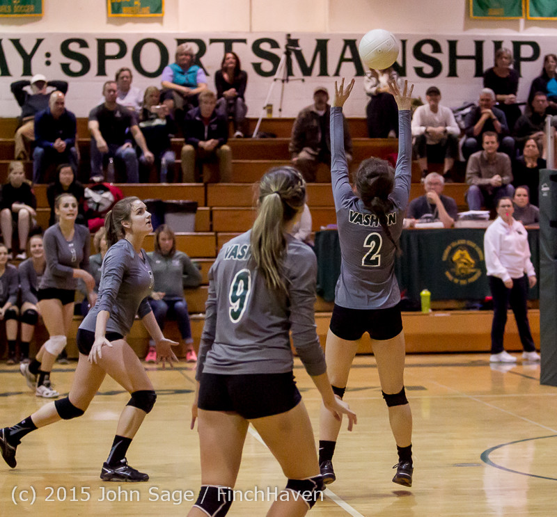 8597 Varsity Volleyball v Crosspoint 102315