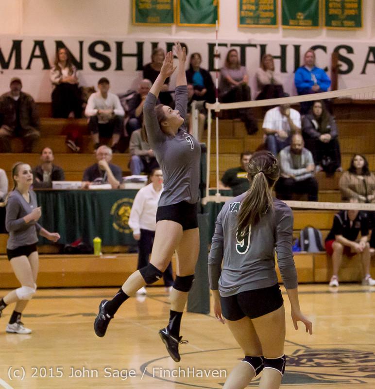8602 Varsity Volleyball v Crosspoint 102315