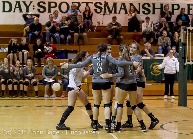 8614 Varsity Volleyball v Crosspoint 102315