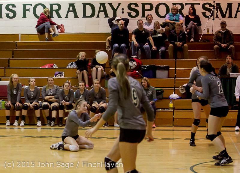 8654 Varsity Volleyball v Crosspoint 102315