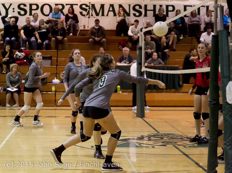 8660 Varsity Volleyball v Crosspoint 102315