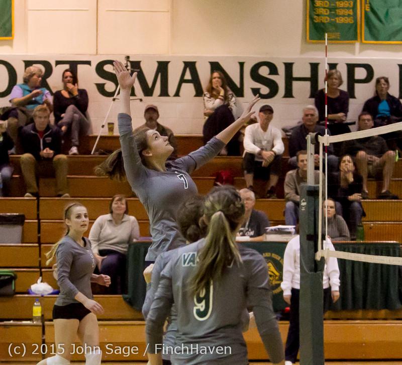 8694 Varsity Volleyball v Crosspoint 102315