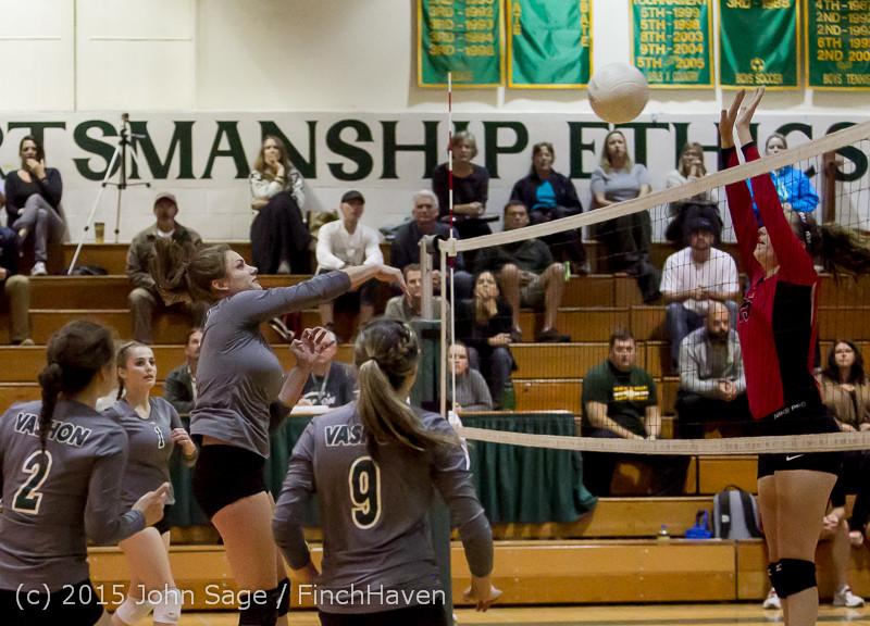 8696 Varsity Volleyball v Crosspoint 102315