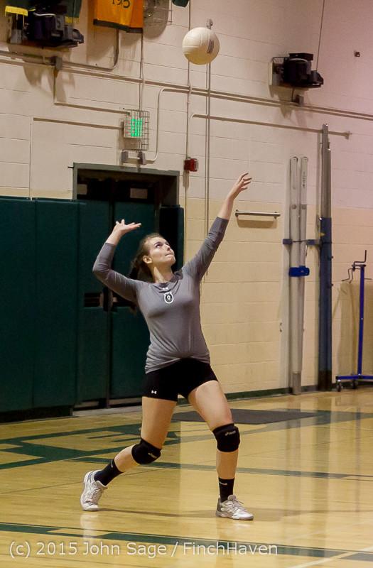 8701 Varsity Volleyball v Crosspoint 102315