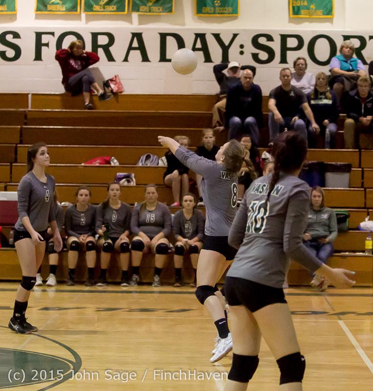 8723 Varsity Volleyball v Crosspoint 102315