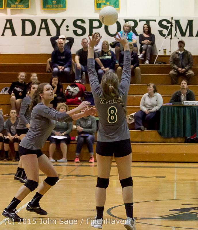 8739 Varsity Volleyball v Crosspoint 102315